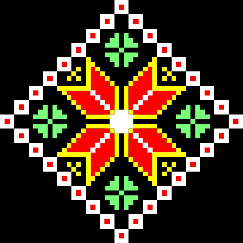 Текстовий слов'янський орнамент: Тернопільщина
