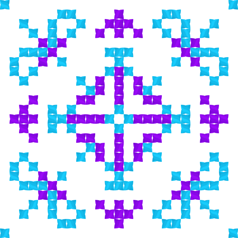 Текстовий слов'янський орнамент: Вікторія