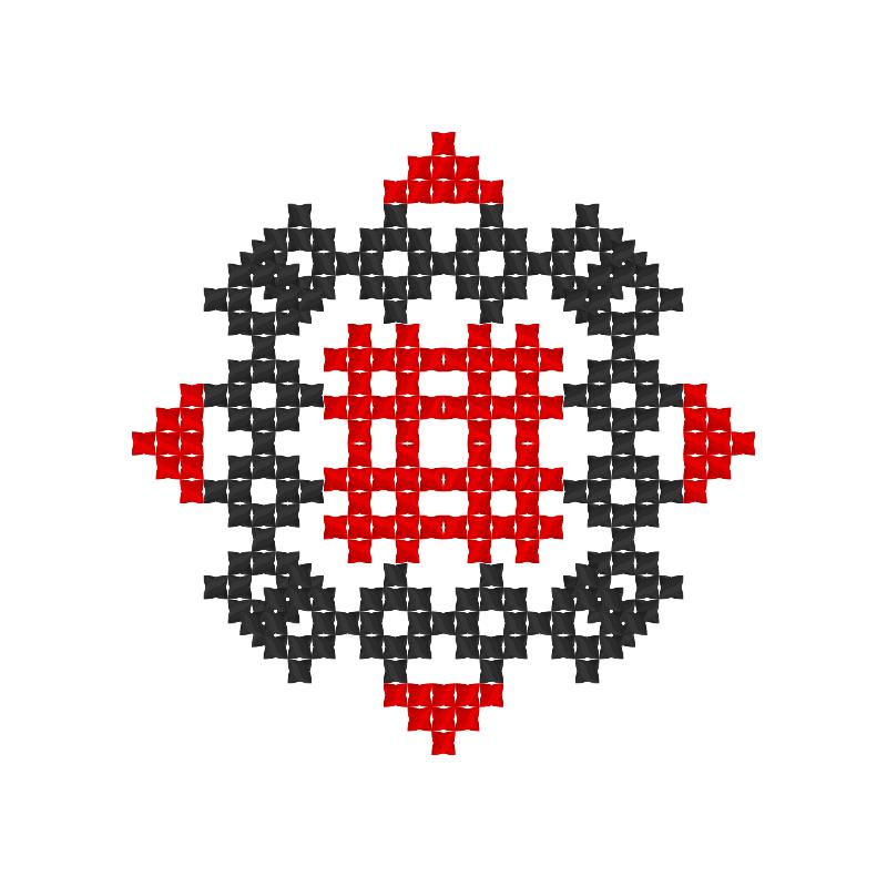 Текстовий слов'янський орнамент: 5 клас