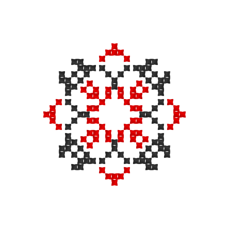 Текстовий слов'янський орнамент: Душа