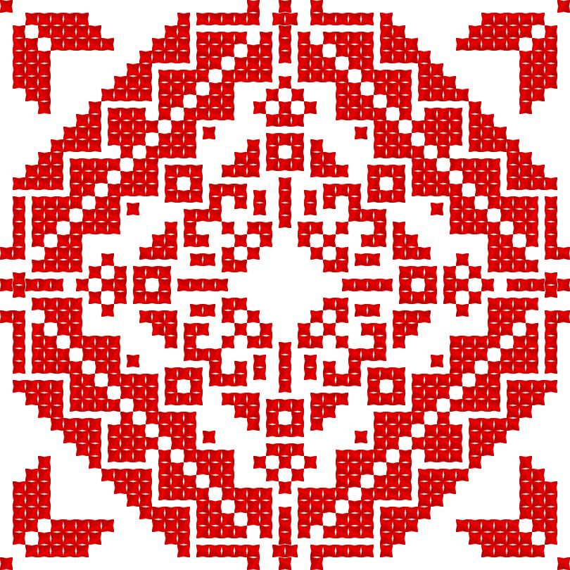Текстовий слов'янський орнамент: Свобода