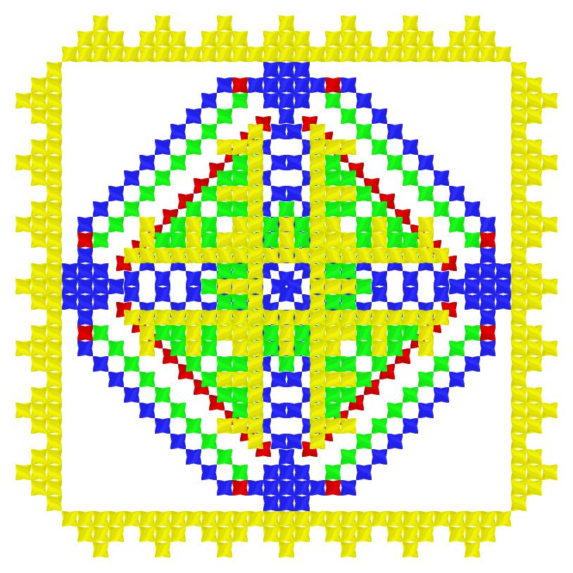 Текстовий слов'янський орнамент: глюк
