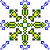 Текстовый украинский орнамент: Ярославль