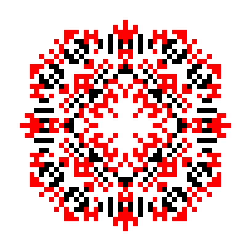Текстовий слов'янський орнамент: Батьківщина