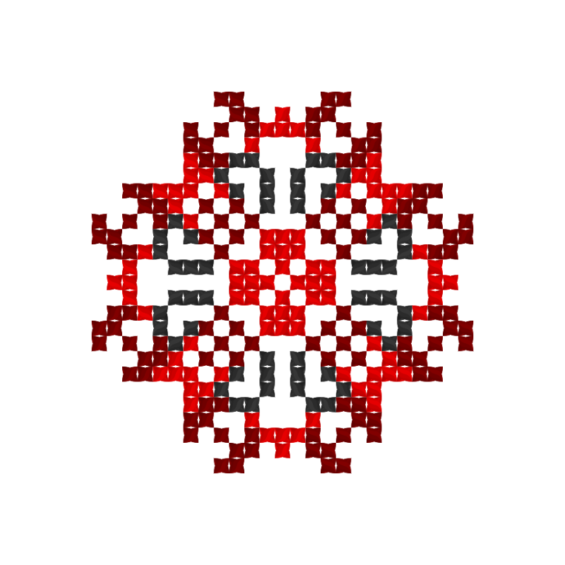 Текстовий слов'янський орнамент: Герман