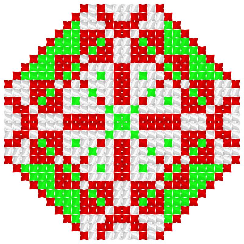 Текстовий слов'янський орнамент: Iталiя