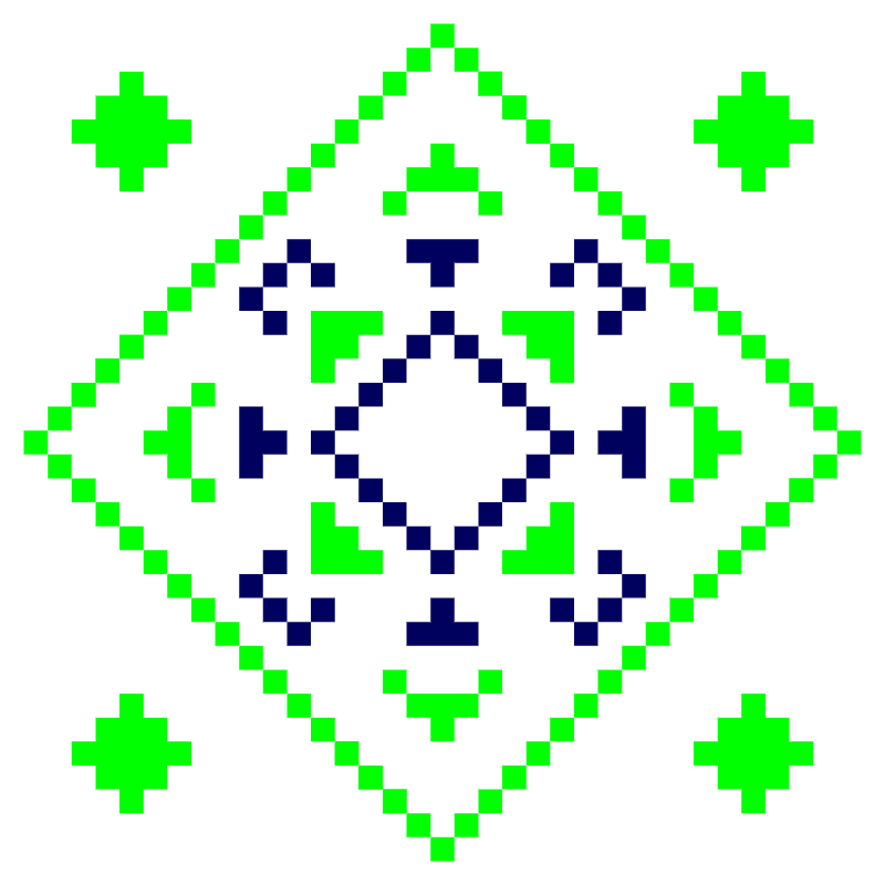 Текстовий слов'янський орнамент: Городок