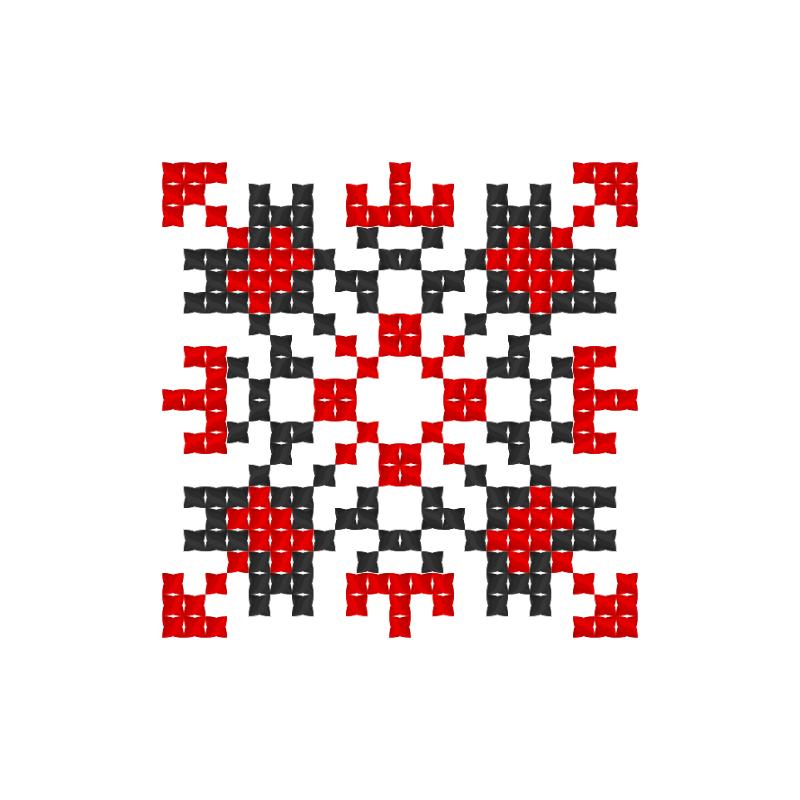 Текстовий слов'янський орнамент: Євнегія