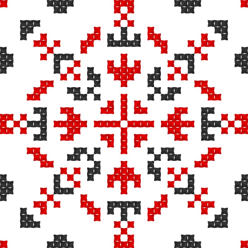 Текстовий слов'янський орнамент: Вчителька