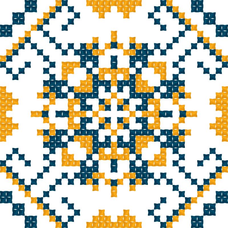 Текстовий слов'янський орнамент: Бесарабія