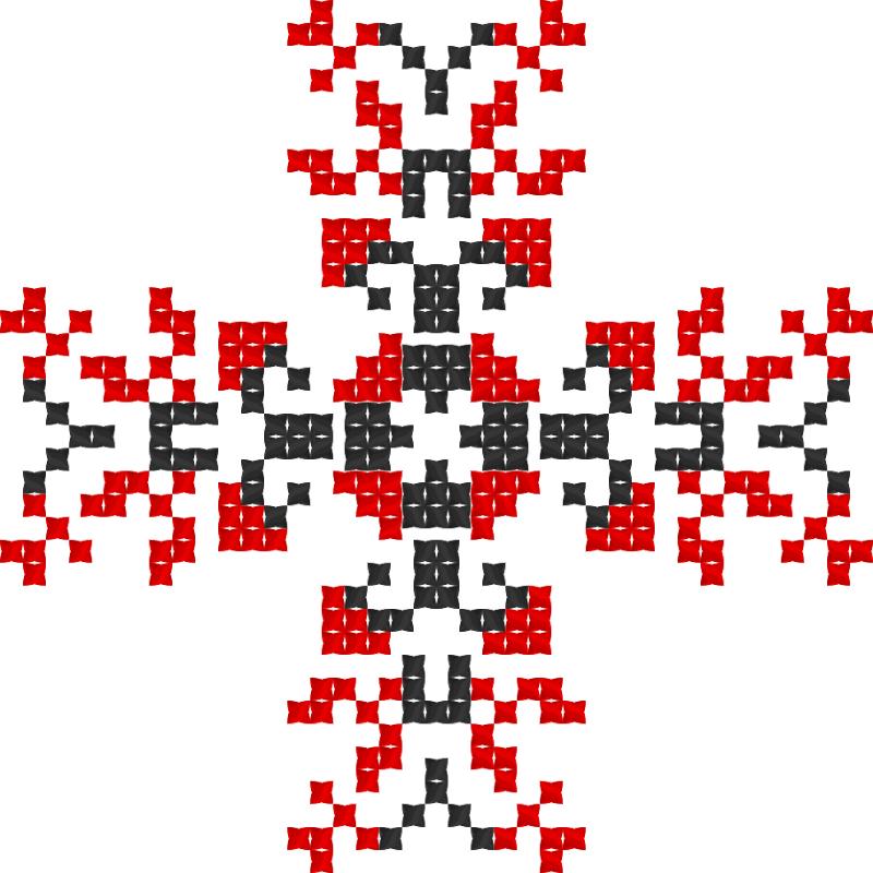Текстовий слов'янський орнамент: Harapchuk