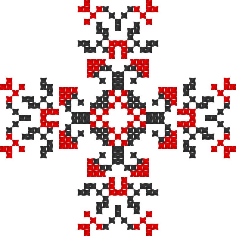 Текстовий слов'янський орнамент: Harapchuk (Final edit)