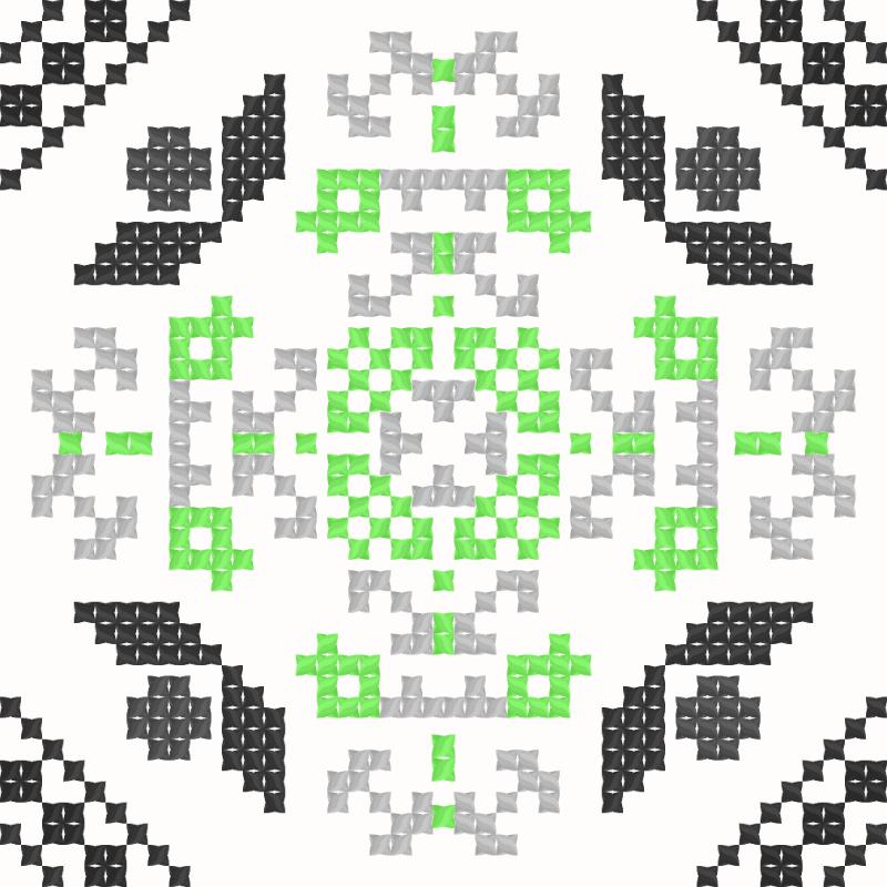 Текстовий слов'янський орнамент: Трістьін (final edit)