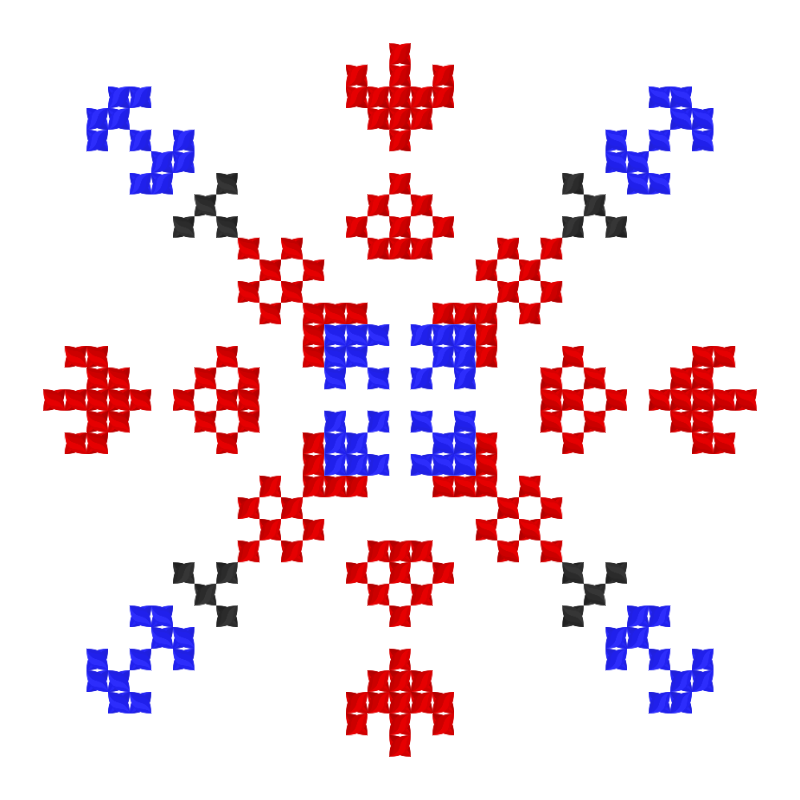 Текстовий слов'янський орнамент: Делятин
