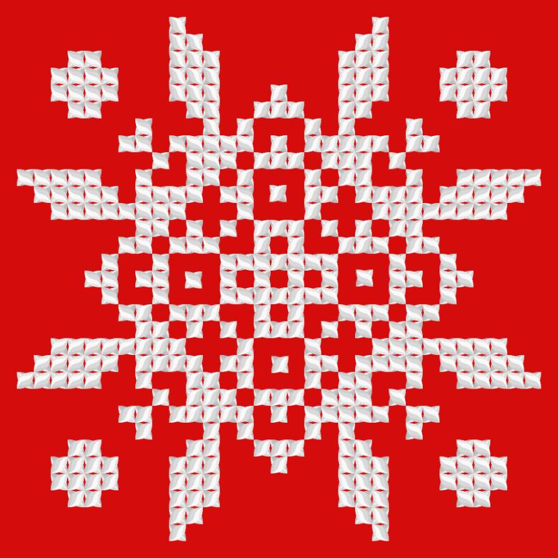 Текстовий слов'янський орнамент: Осака