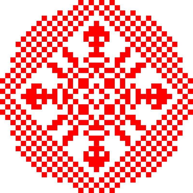 Текстовий слов'янський орнамент: Китай