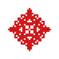 Текстовый украинский орнамент: Благословляю