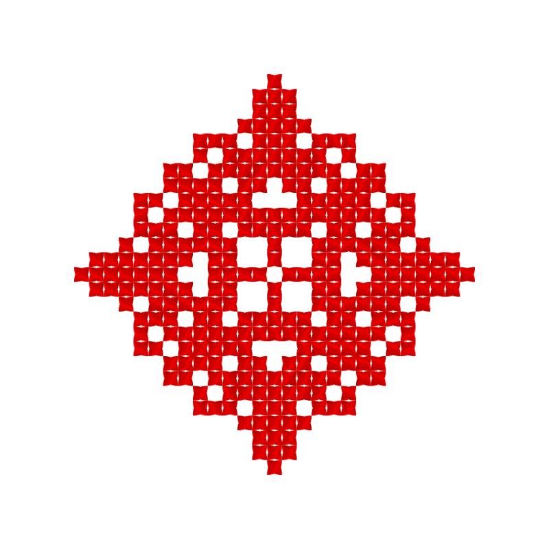 Текстовий слов'янський орнамент: Благословляю