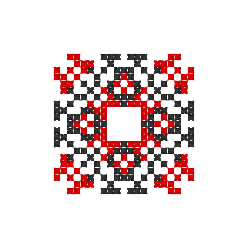 Текстовий слов'янський орнамент: Малишко