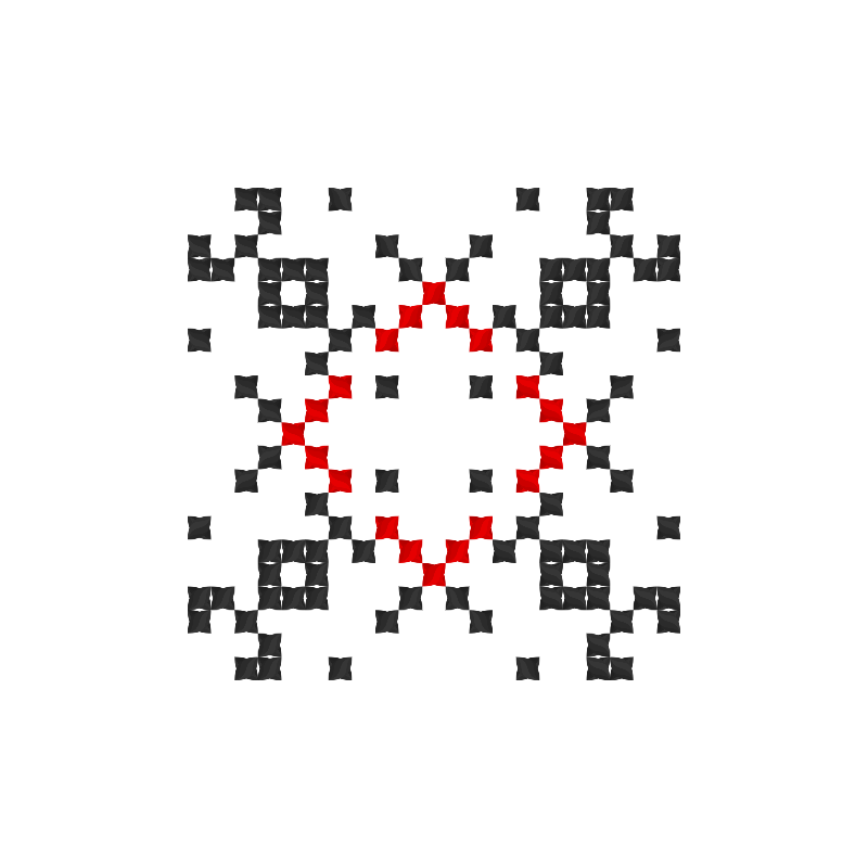 Текстовий слов'янський орнамент: Люсі