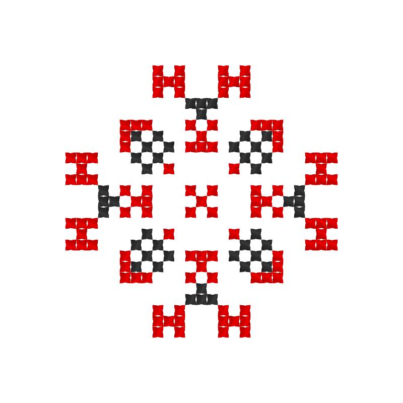 Текстовий слов'янський орнамент: Кетлін