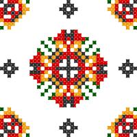 Текстовый украинский орнамент: Червона рута