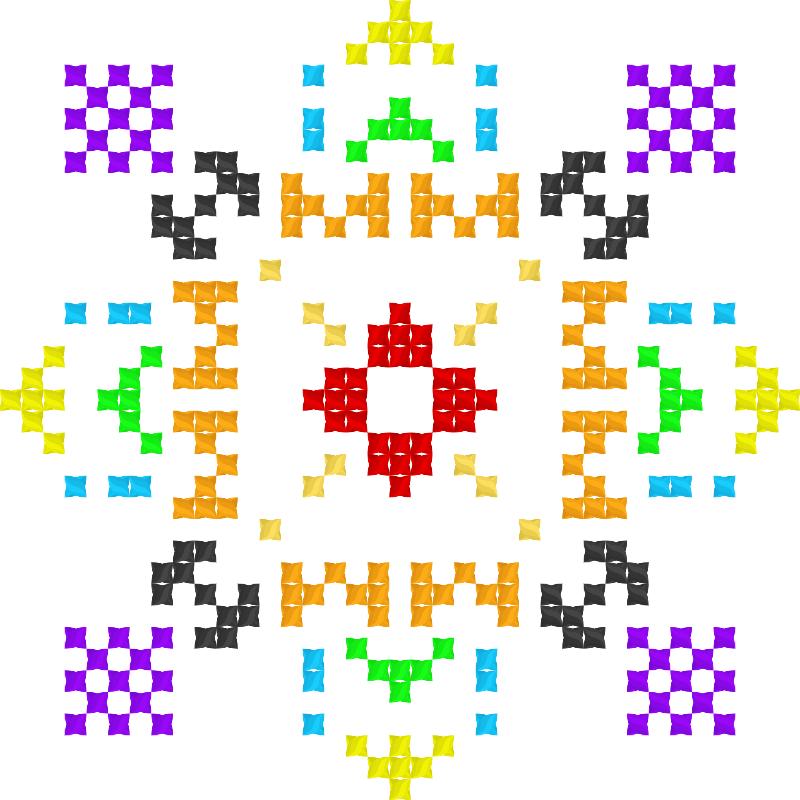 Текстовий слов'янський орнамент: Гімназія