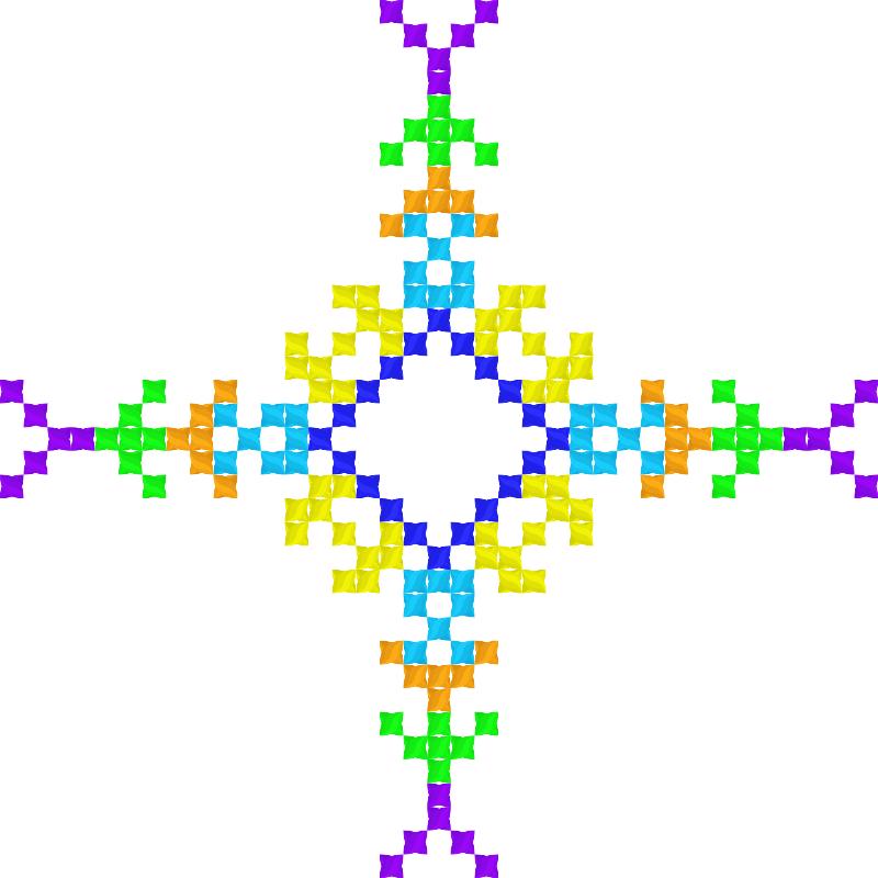 Текстовий слов'янський орнамент: Ульяна
