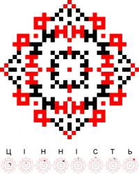 Текстовый украинский орнамент: Цінність