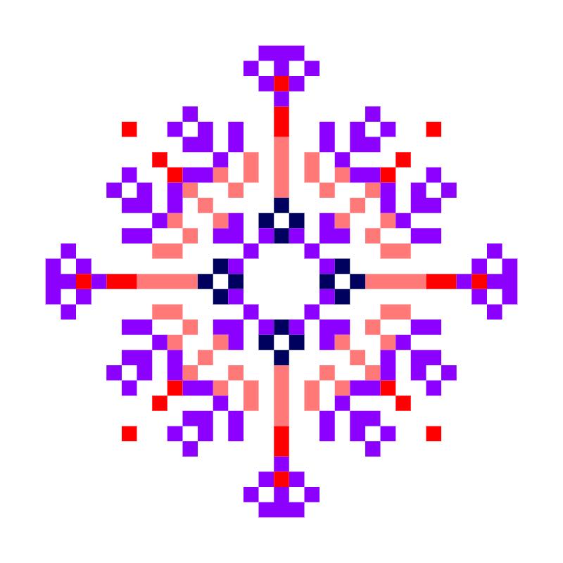 Текстовий слов'янський орнамент: ковід