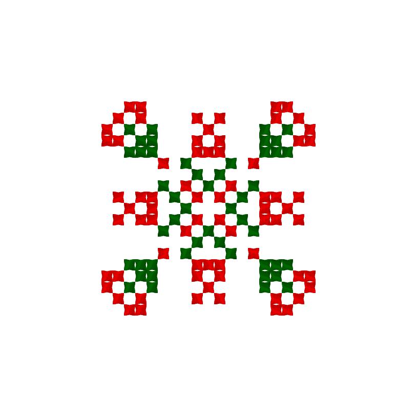 Текстовий слов'янський орнамент: Ільяс