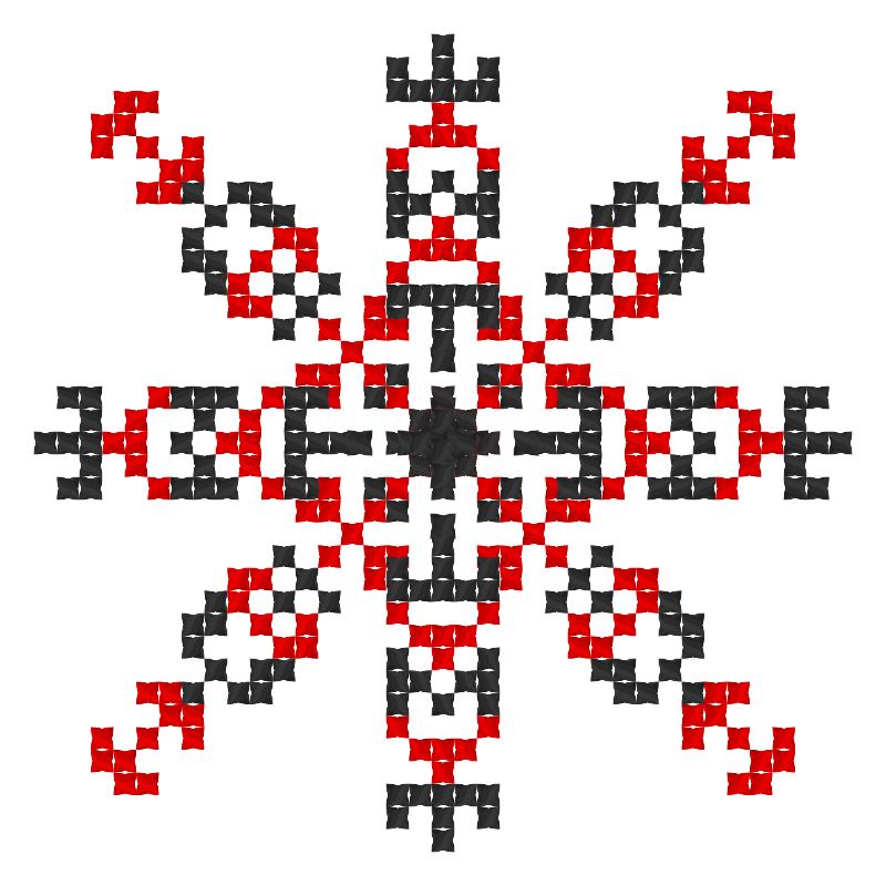 Текстовий слов'янський орнамент: свіже та смачне