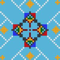 Текстовый украинский орнамент: ВИШИВКА