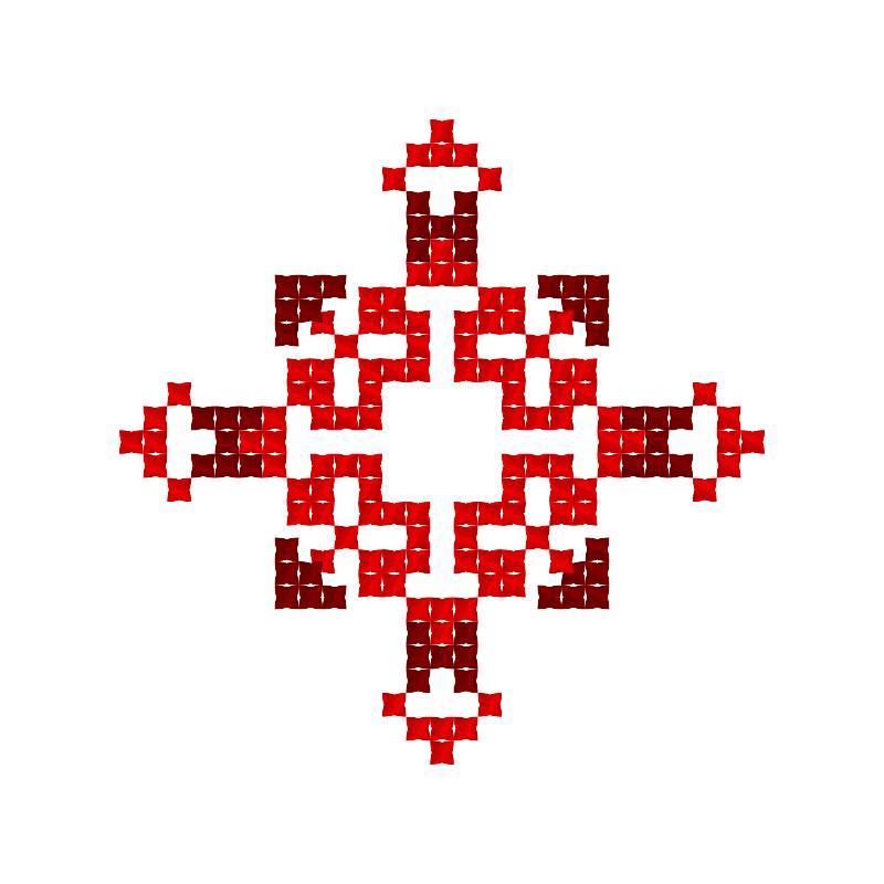 Текстовий слов'янський орнамент: Бажана