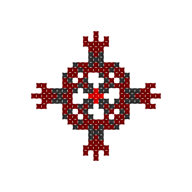 Текстовий слов'янський орнамент: хресний