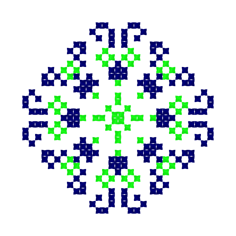 Текстовий слов'янський орнамент: ІГОР