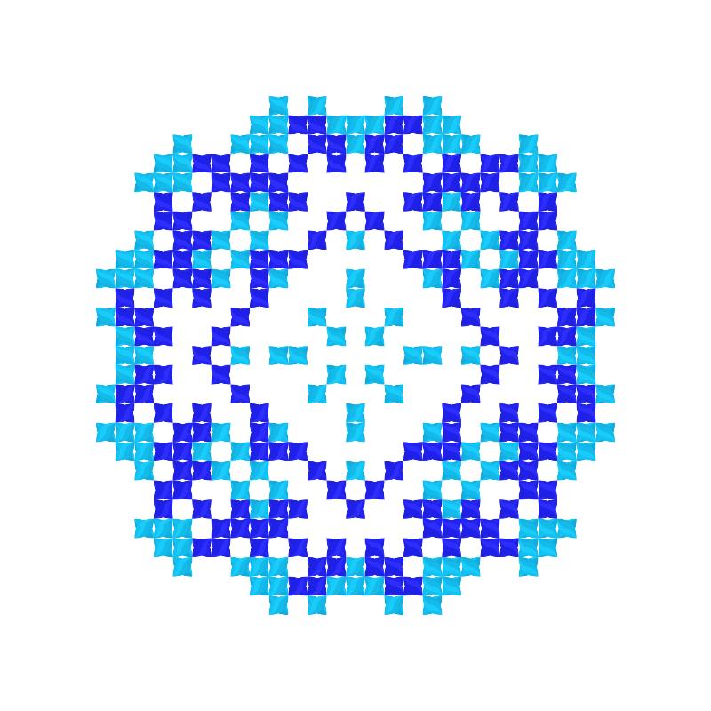 Текстовий слов'янський орнамент: ІЛОНА