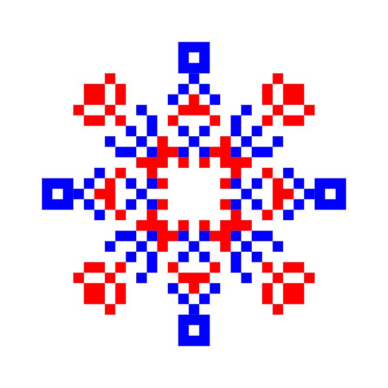 Текстовий слов'янський орнамент: михайло