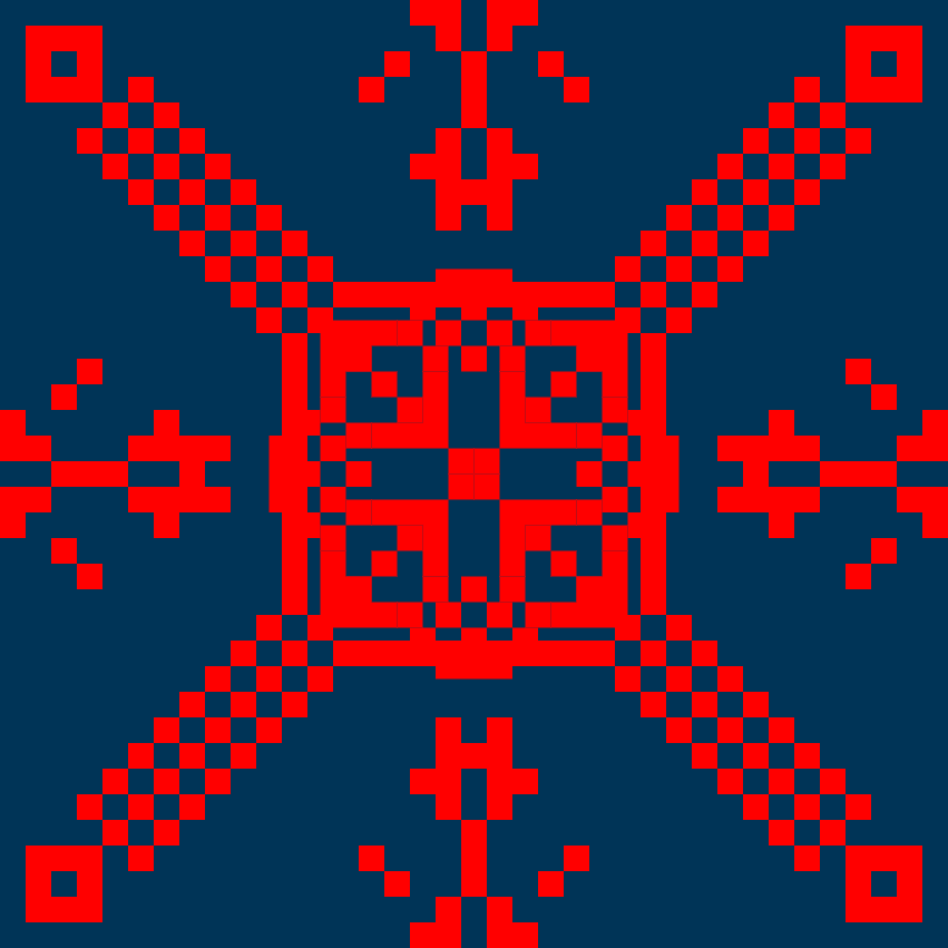 Текстовий слов'янський орнамент: хмет
