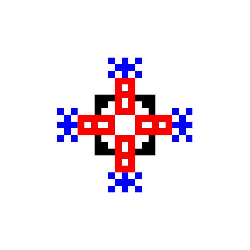 Текстовий слов'янський орнамент: ;jgf