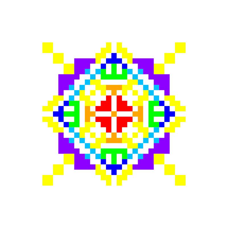 Текстовий слов'янський орнамент: Анетта