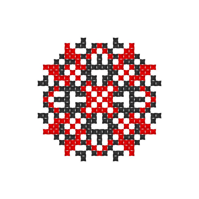 Текстовий слов'янський орнамент: Анжеліка