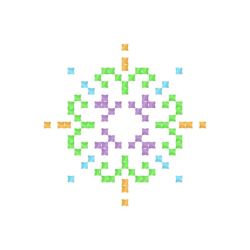 Текстовий слов'янський орнамент: Ківі