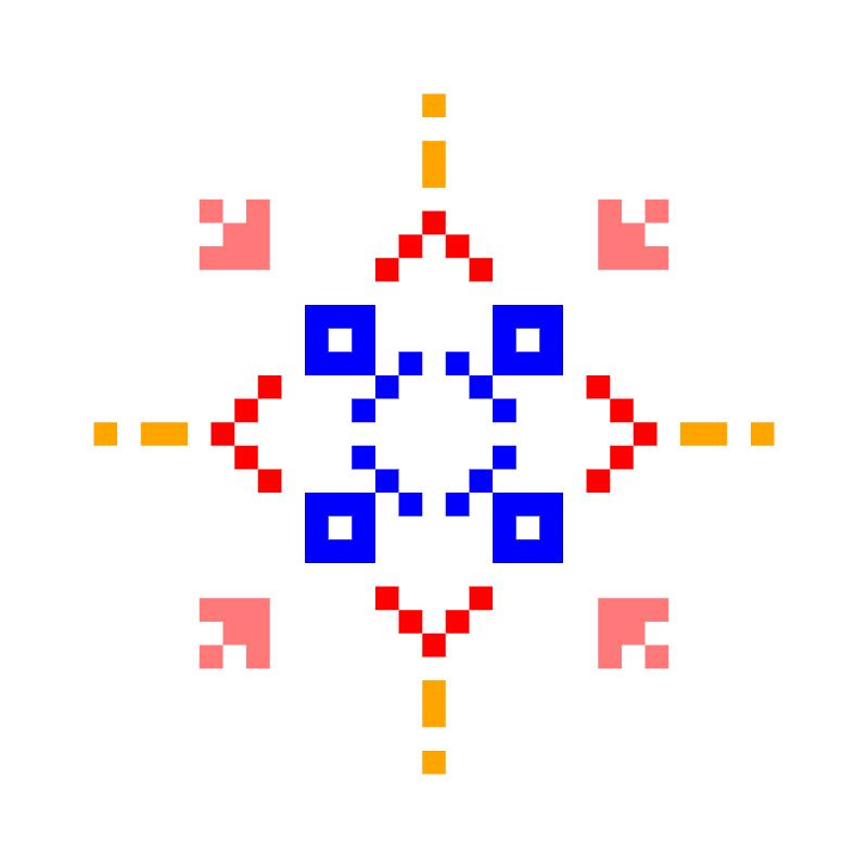 Текстовий слов'янський орнамент: юлія2
