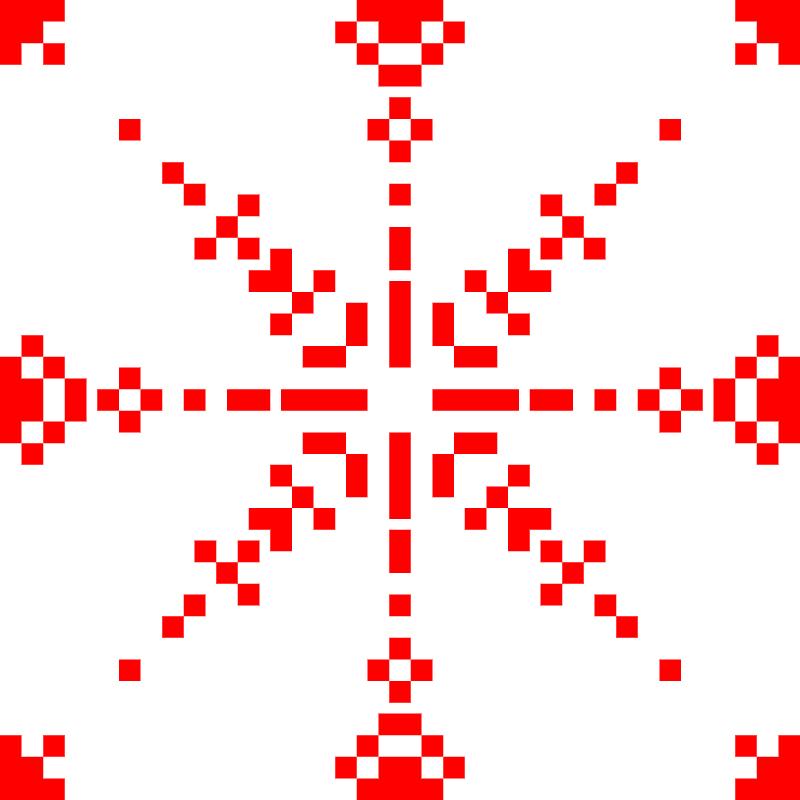 Текстовий слов'янський орнамент: вікторії
