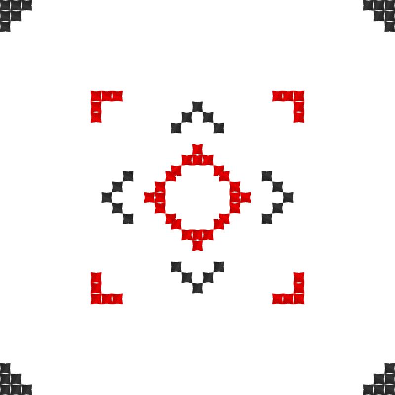 Текстовий слов'янський орнамент: Алла