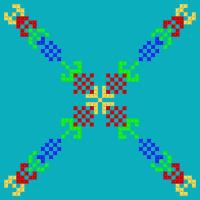 Текстовый украинский орнамент: Узбекистан