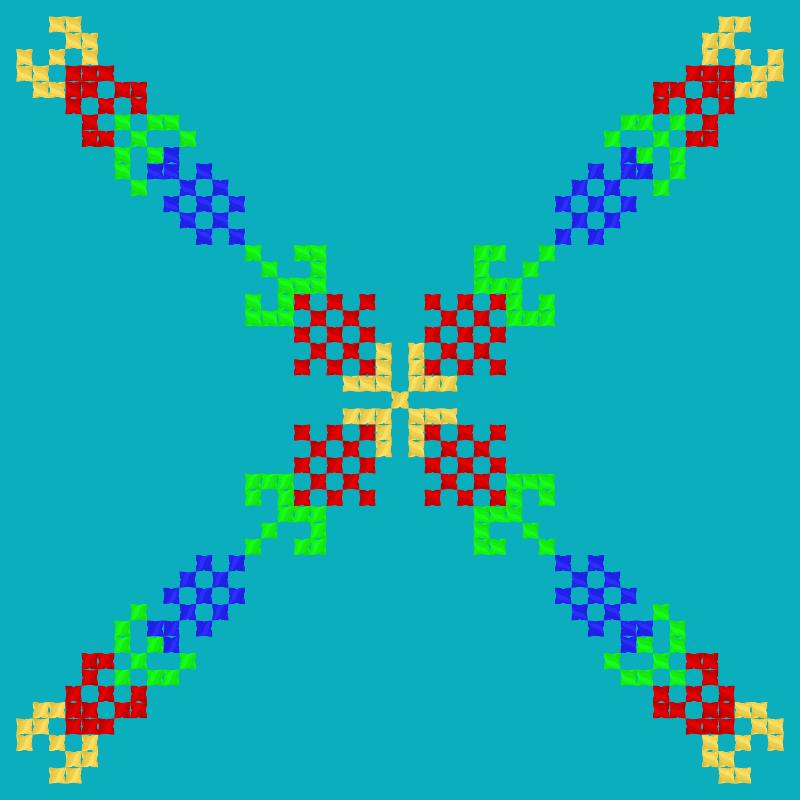 Текстовий слов'янський орнамент: Узбекистан