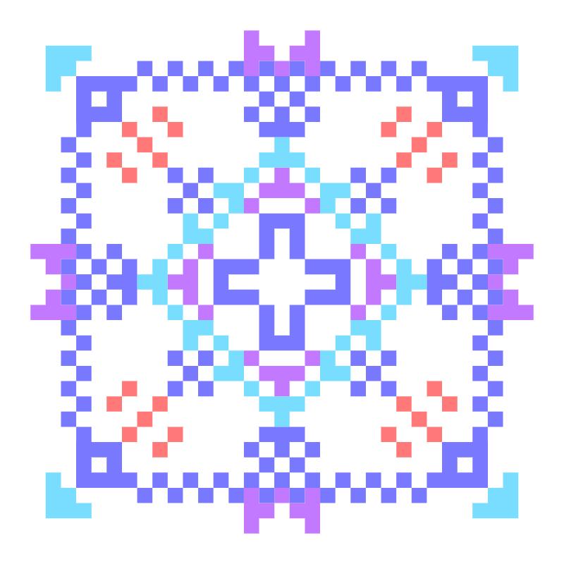Текстовий слов'янський орнамент: Пасха вдома