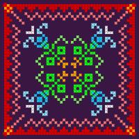 Текстовый украинский орнамент: Узор